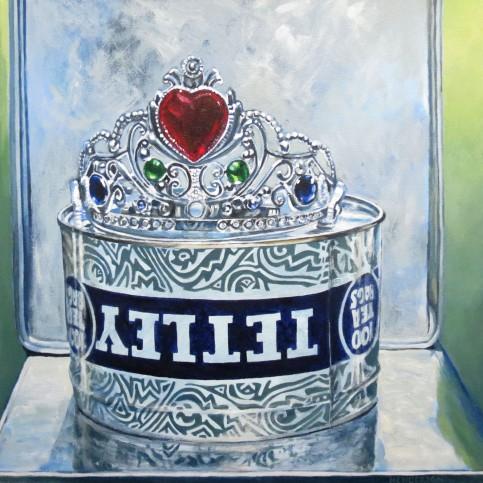 Erin's Crown acrylic Andrew Henderson