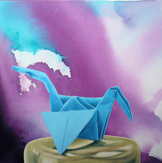 Blue-Bird--acrylic-Andrew-H