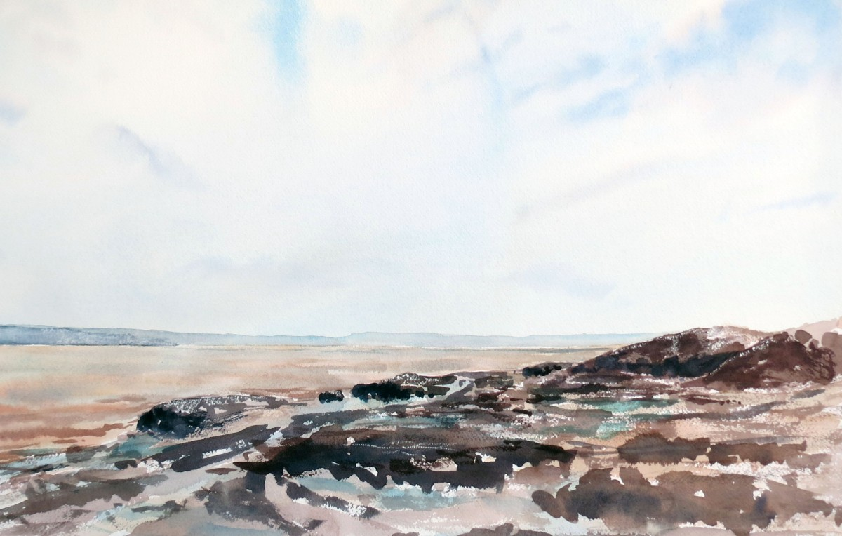 Hazy Day watercolour Andrew Henderson