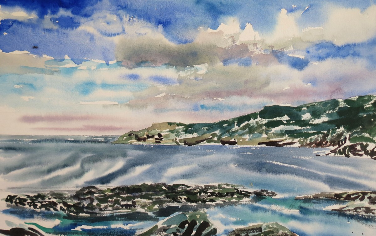 Torbay NFLD watercolour Andrew Henderson