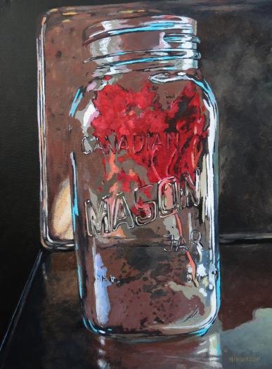 Canadian Mason Acrylic Andrew Henderson