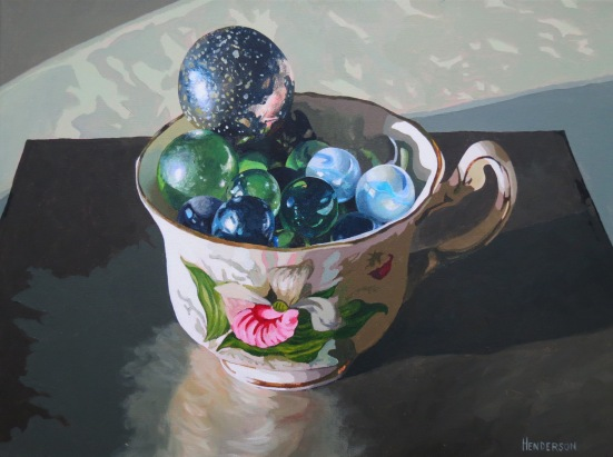 Full Bloom acrylic Andrew Henderson