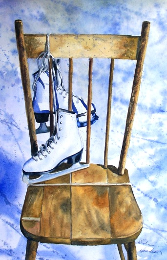 Ice Throne watercolour Andrew Henderson