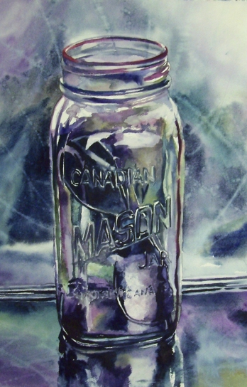 Preserved Shades watercolour Andrew Henderson