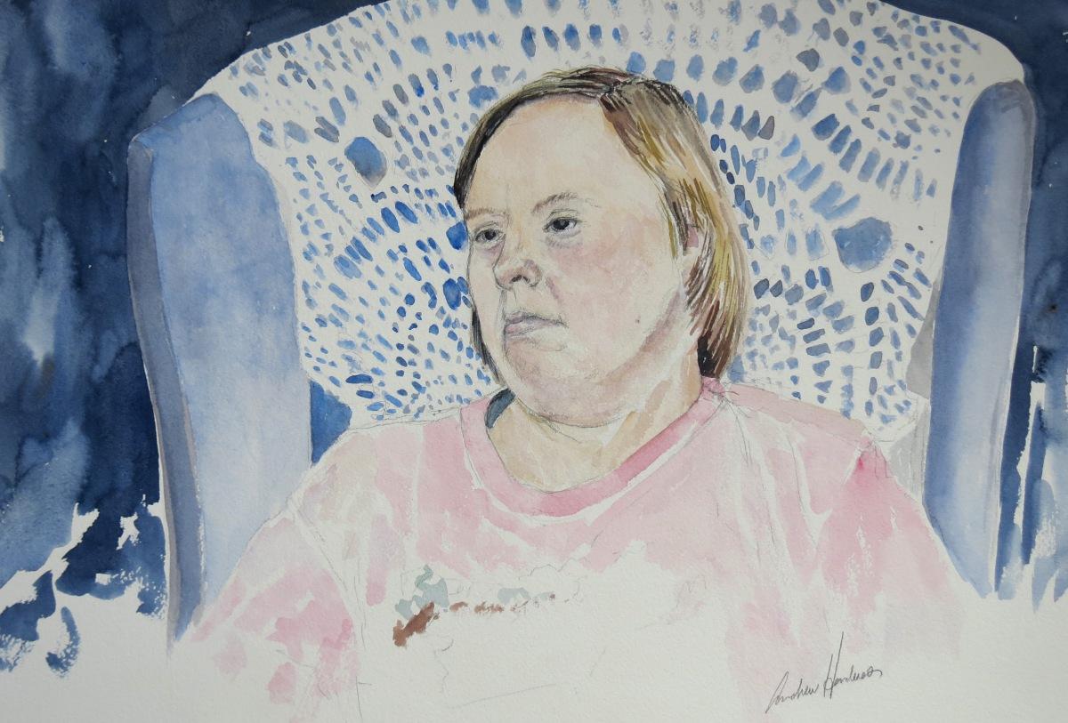 Sheila watercolour Andrew Henderson