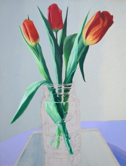 Three Tulips Preserved WIP