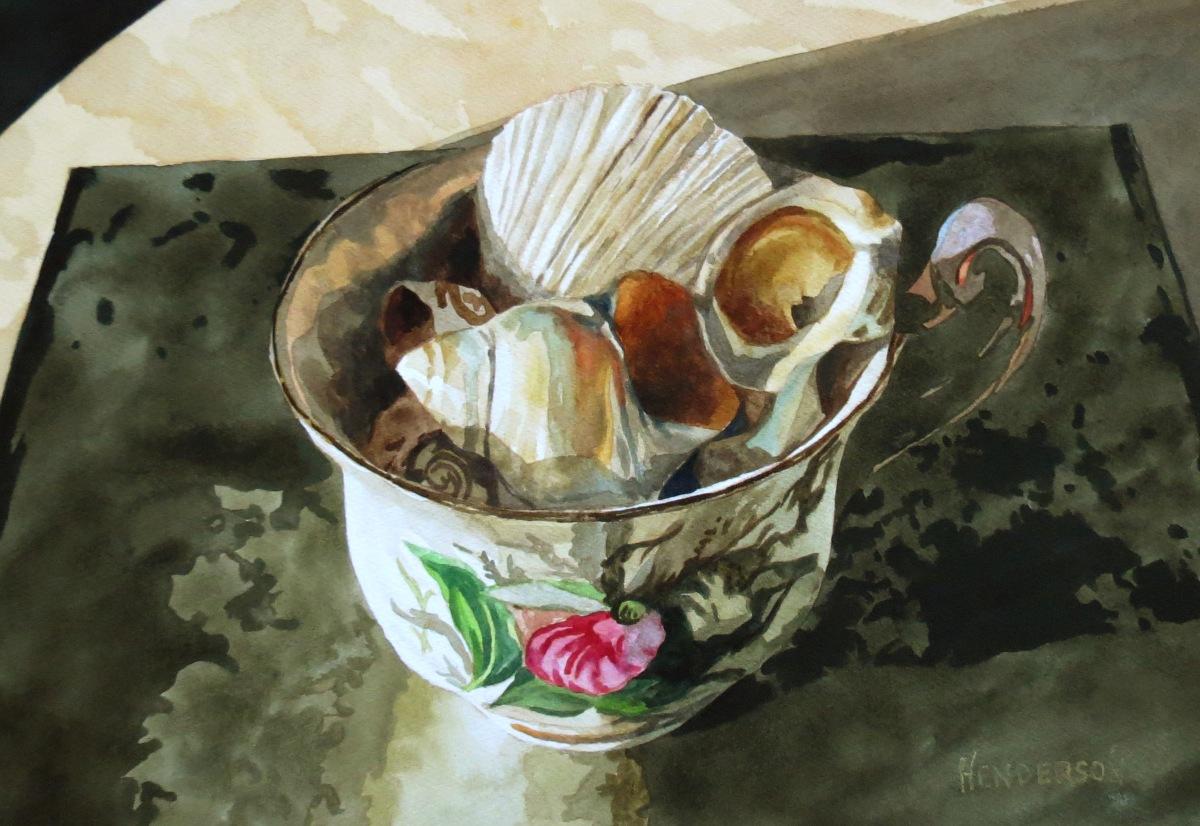 Sea Shells watercolour Andrew Henderson