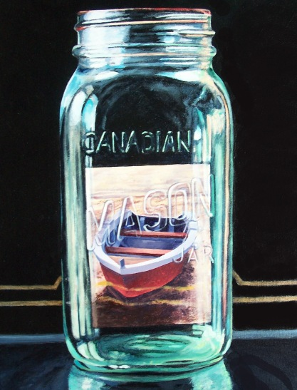 Preserved Boat acrylic Andrew Henderson