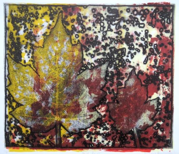 Acid Rain etching Andrew Henderson