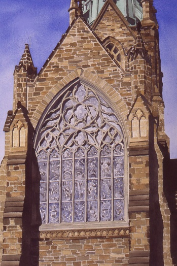 cathedral watercolour Andrew Henderson