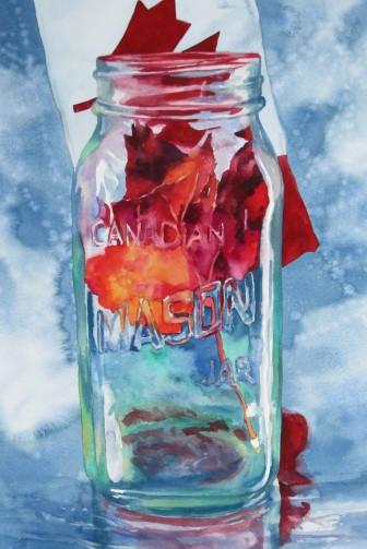 Maple Jam watercolour Andrew Henderson