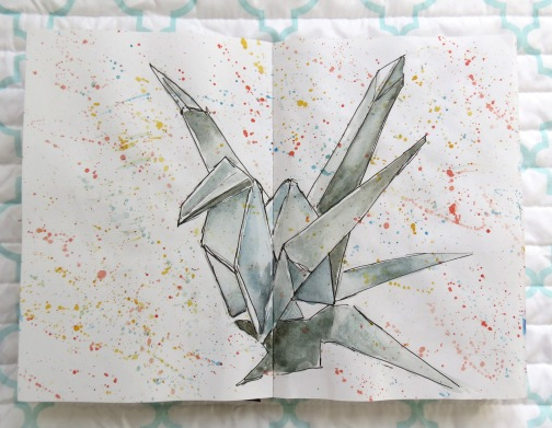 Origami Sketch