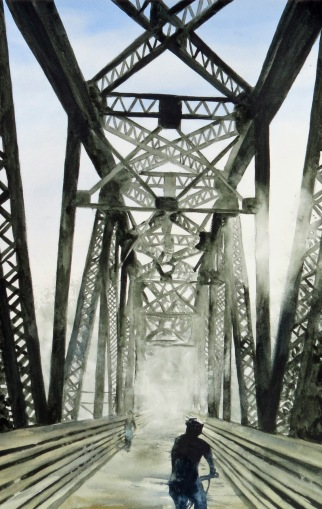 Railway Bridge Morning