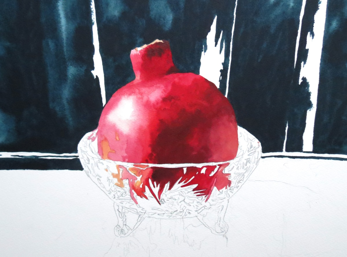 Crystal Pomegranate WIP
