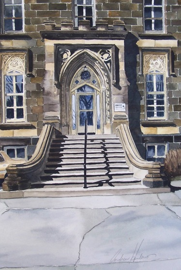 SDU Place watercolour Andrew Henderson