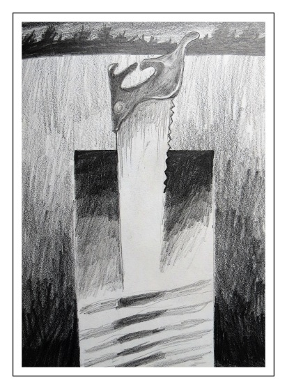 Excalibur drawing Andrew Henderson