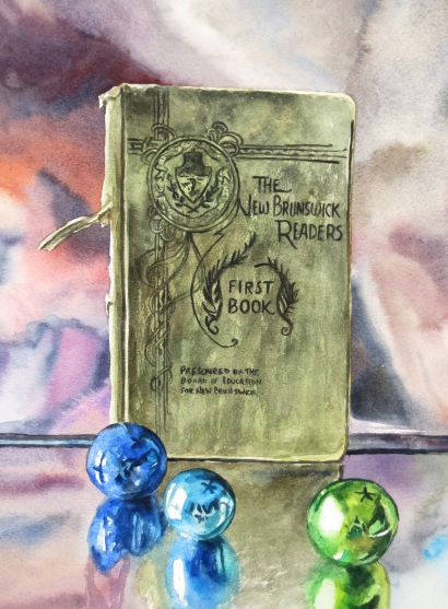 First Book watercolour Andrew Henderson