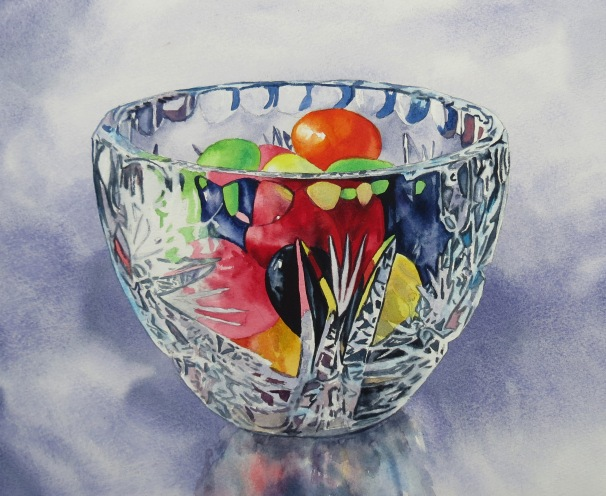 Jelly B watercolour Andrew Henderson