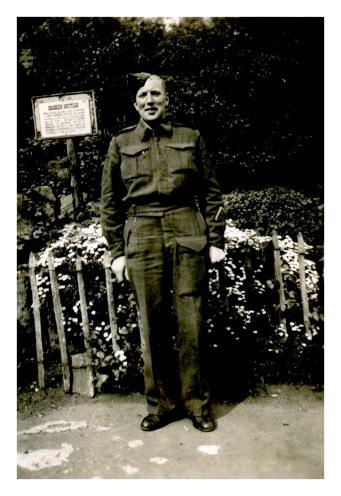 John Henderson Overseas WWII