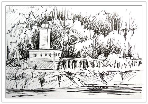 Lighthouse Shore Andrew Henderson
