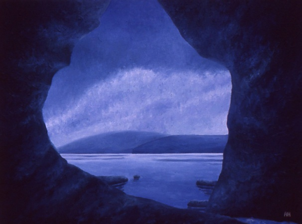 The Cape acrylic Andrew Henderson