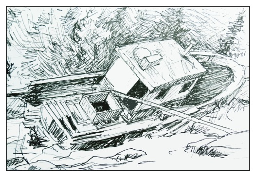 Ship to Shore sketch Andrew Henderson