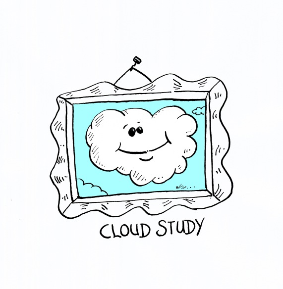 cloud study comic