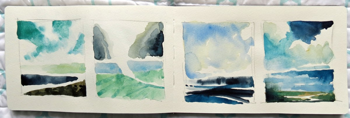 land&sea sketches andrew henderson