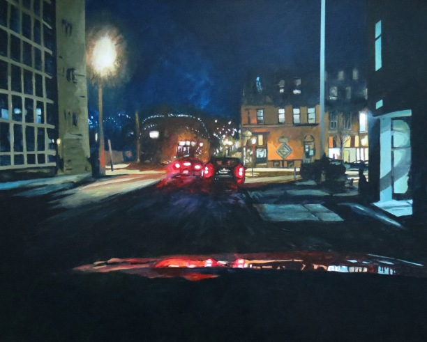 richmondstreetnightacrylicandrewhenderson