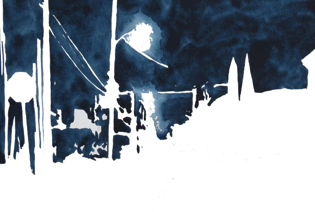 Nightscape - positve + negative Andrew Henderson