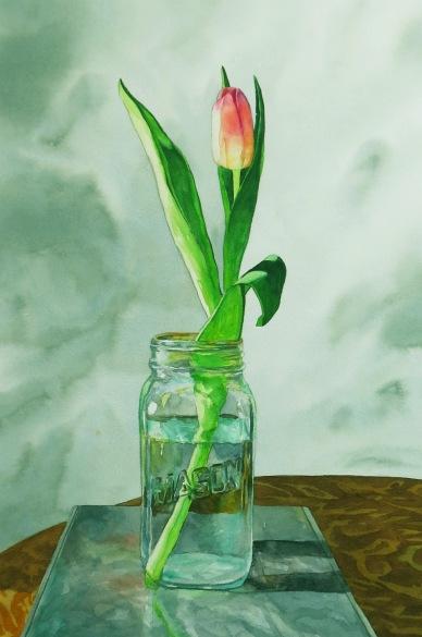 Harbinger watercolour Andrew Henderson