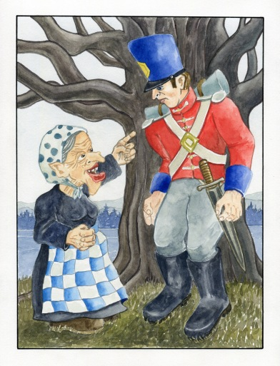 Tinderbox watercolour ANdrew Henderson