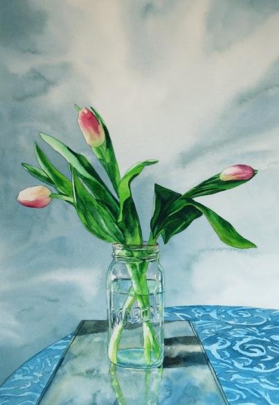 Three watercolour Andrew Henderson