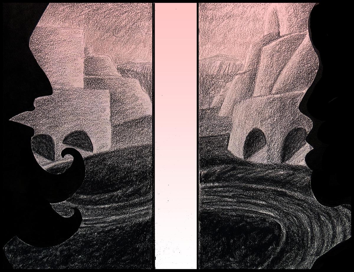Two Andrew Henderson illustration