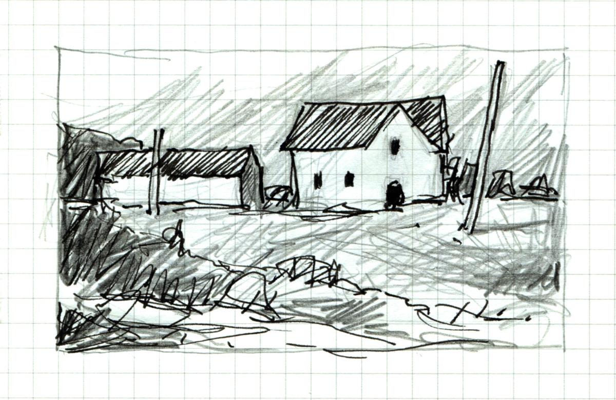 Poles Apart sketch Andrew Henderson