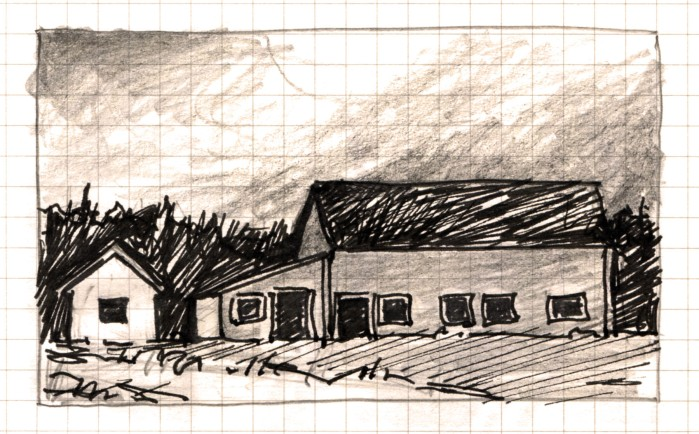 Barn There sketch Andrew Henderson