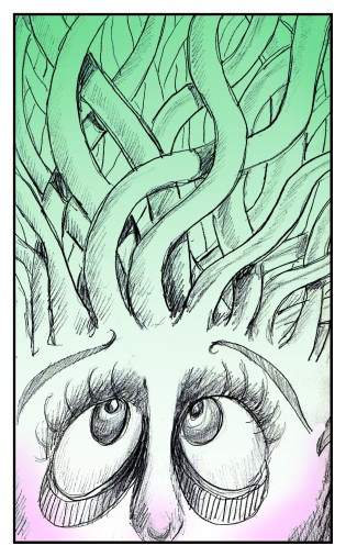 Medusa Hair Day comic Andrew Henderson