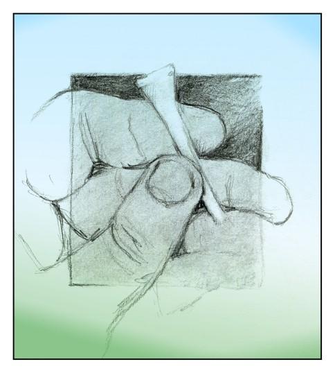 Tee Time sketch Andrew Henderson