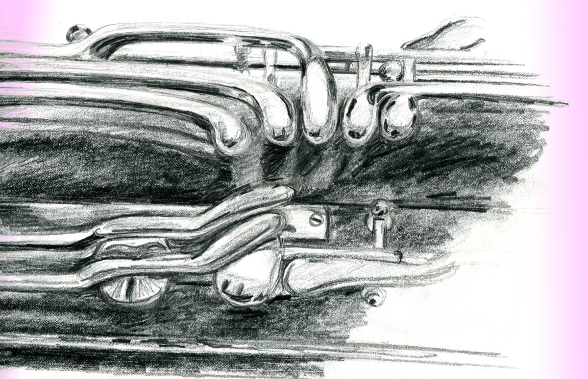 Bassoon Keys sketch Andrew Henderson