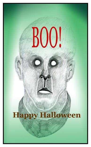 Happy Halloween sketch Andrew Henderson
