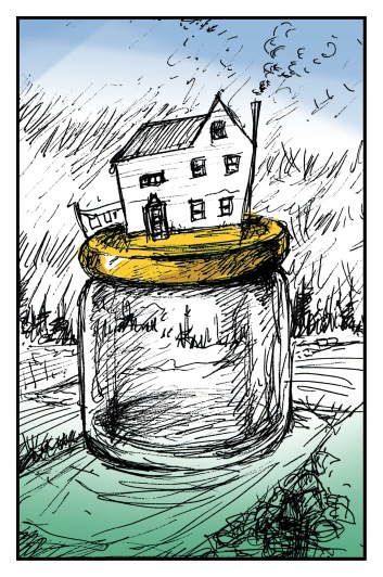 House on A Hill (on a Jar) Andrew Henderson