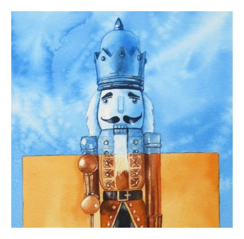 Ice King fragment watercolour Andrew Henderson