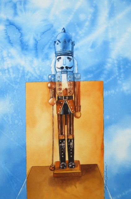 Ice King watercolour Andrew Henderson
