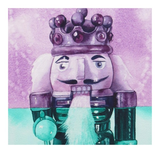 Nutcracker King fragment watercolour Andrew Henderson