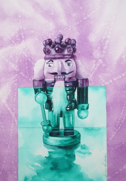 Nutcracker King watercolour Andrew Henderson