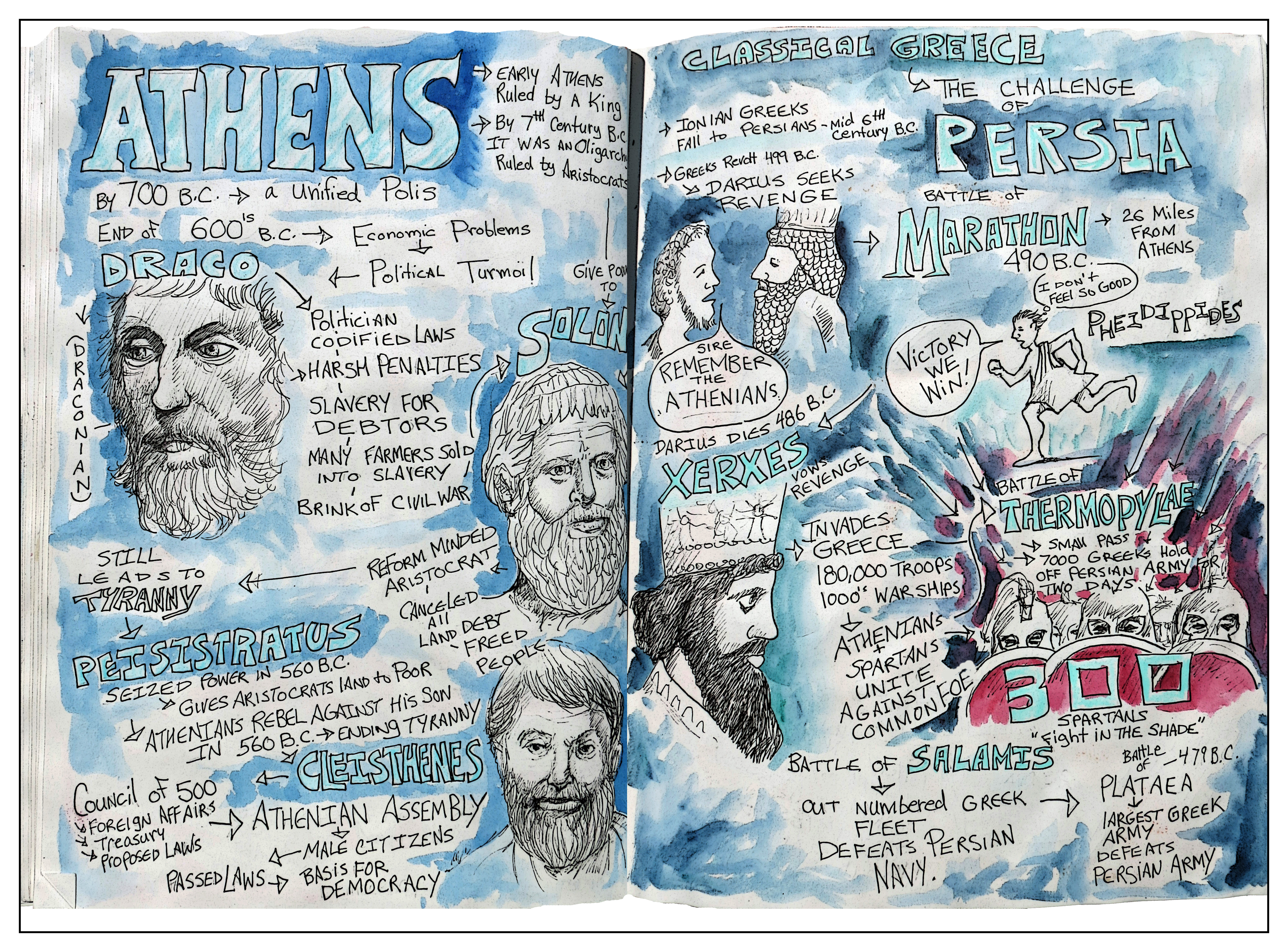 Athens history Andrew Henderson