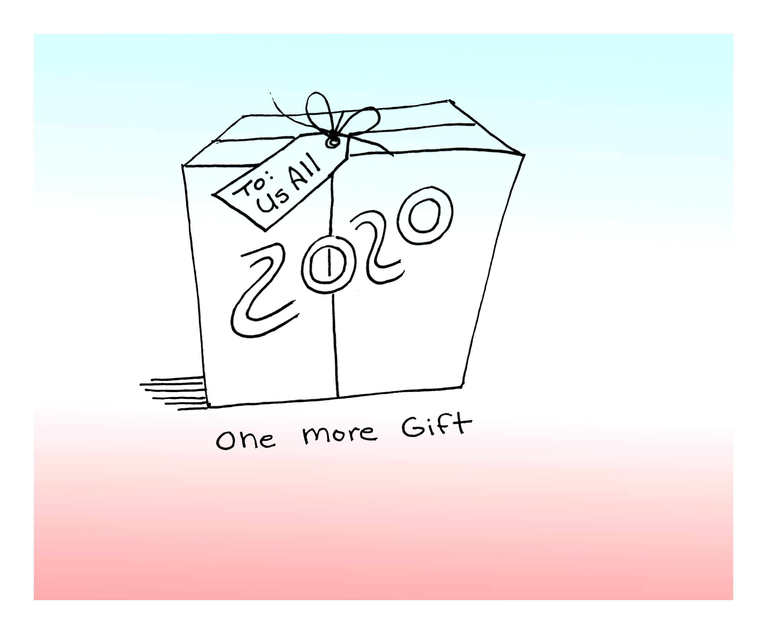 One More Gift sketch Andrew Henderson
