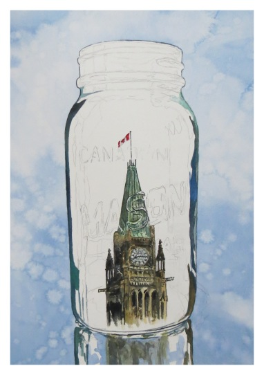 Preserved Peace Tower wip andrew henderson