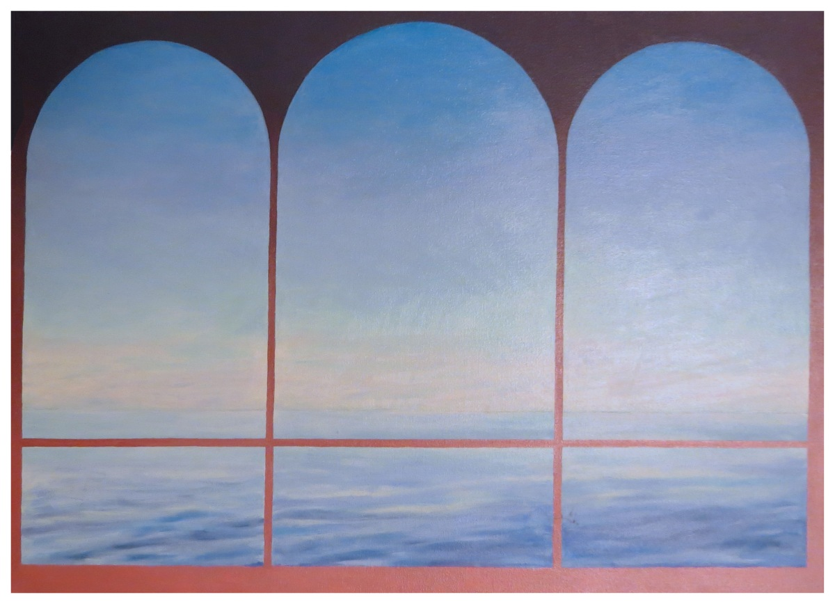 Three Arches Andrew Henderson painting