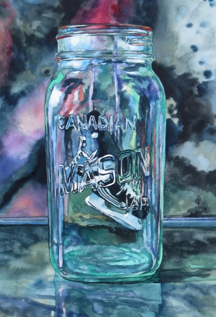Preserved Skates watercolour Andrew Henderson